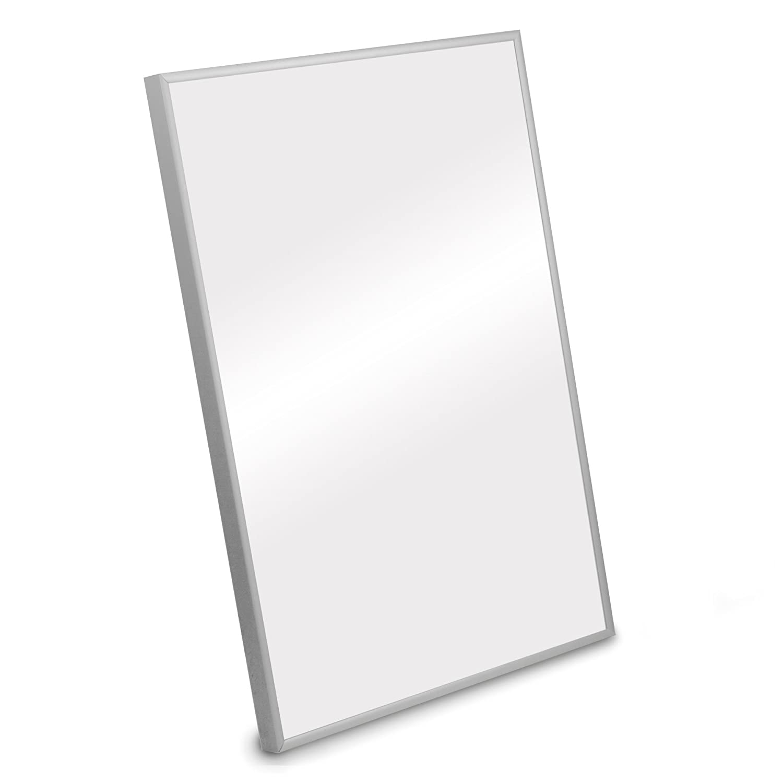 Modern Silver Aluminium Picture Frame 40x30 cm (Approx 16x12 inch ...
