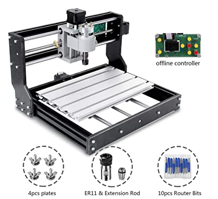 Used Milling Machines Power Tools Tools Home Amazon Com >> Amazon Com 3018 Pro Cnc Router Kit Upgraded 3 Axis Engraver With
