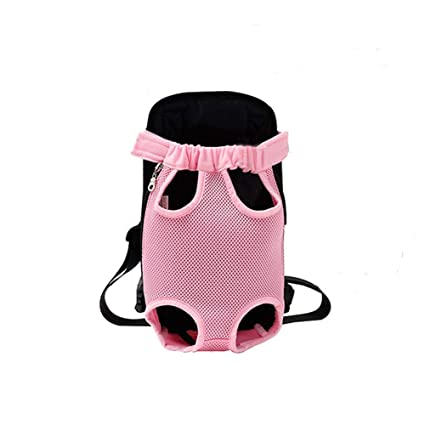 67d02186697c Yingjie Dog Carrier Legs Out Front Pet Carrier Backpack Adjustable Puppy  Cat Small Bag with Shoulder Strap and Sling for Traveling Hiking Camping  Outdoor
