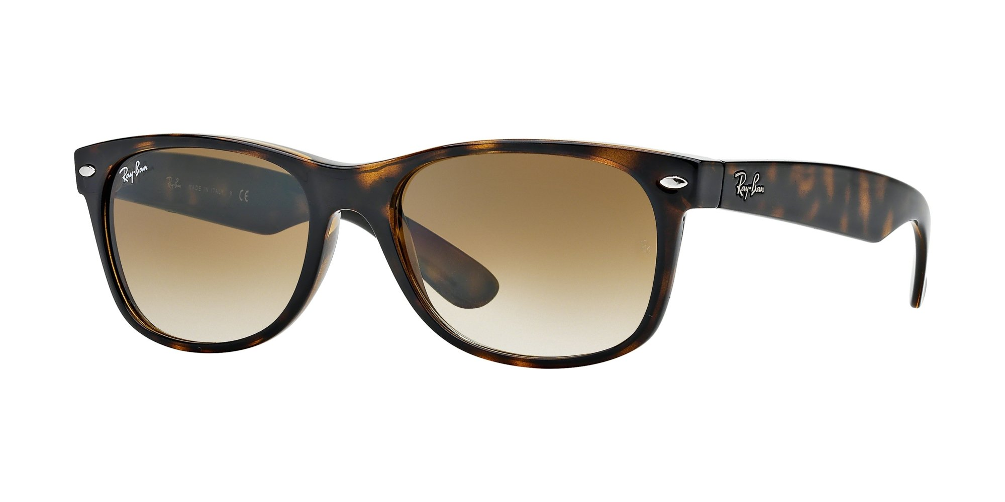 Ray Ban RB2132 710/51 55M Light Havana/Brown Gradient+FREE Complimentary Eyewear Care Kit