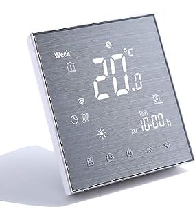 Termostato aire acondicionado central wifi calefaccion programable ...