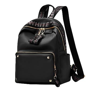e96aa63fad Amazon.com  Fashion Women Girls Casual Backpack Waterproof Oxford Cloth  Rucksack School College Bookbag Shoulder Purse Travel Backpack  Shoes