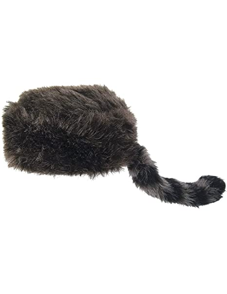 Amazon.com  Jacobson Hat Company Davy Crockett Daniel Boone Coonskin Cap  Wax Museum Book Report One Size  Clothing a4ad9ee0166a