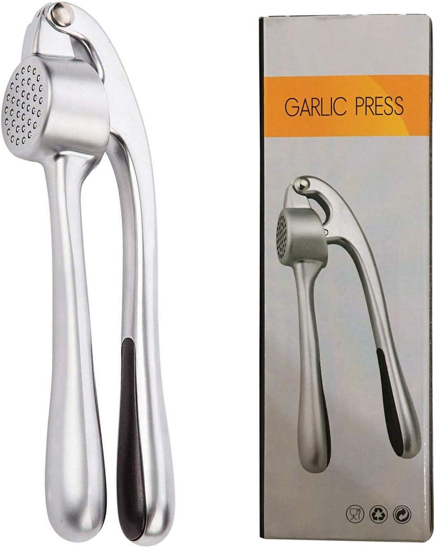 Knoblauchpresse Garlic Press Knoblauchschneider Zinklegierung Küchen Crusher