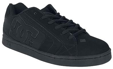 e9ba574195c0 Amazon.com  DC Men s Net Lace-Up Shoe (8.5 D(M) US) Black Black ...