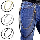 Search : Men Wallet Chain Skull Design Men Fashion Accessories Jean Chain Key Chain Punk Style