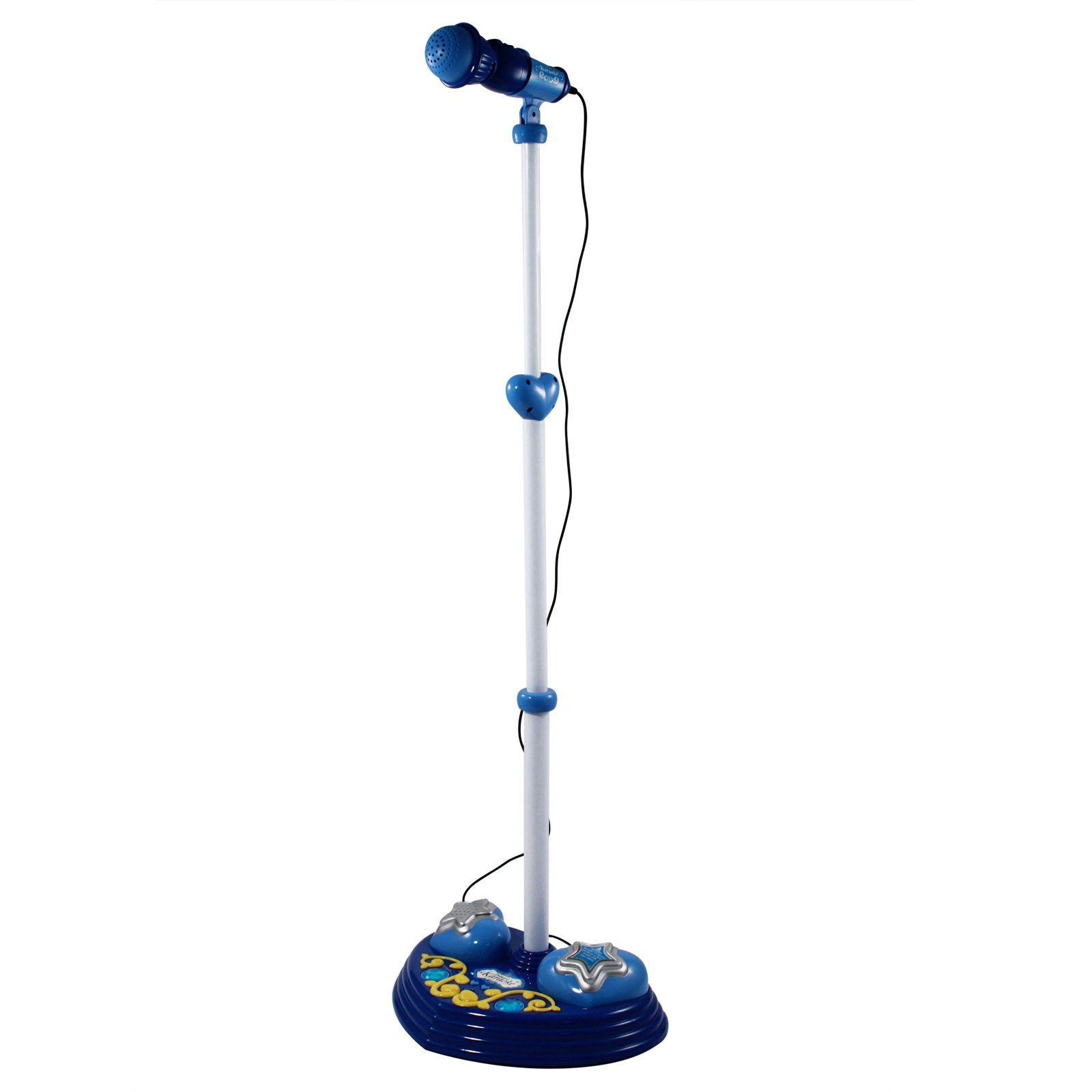 Super Star Kids Android iPhone MP3 Supported Microphone and Karaoke Stand - Blue by Kid Fun (Image #1)