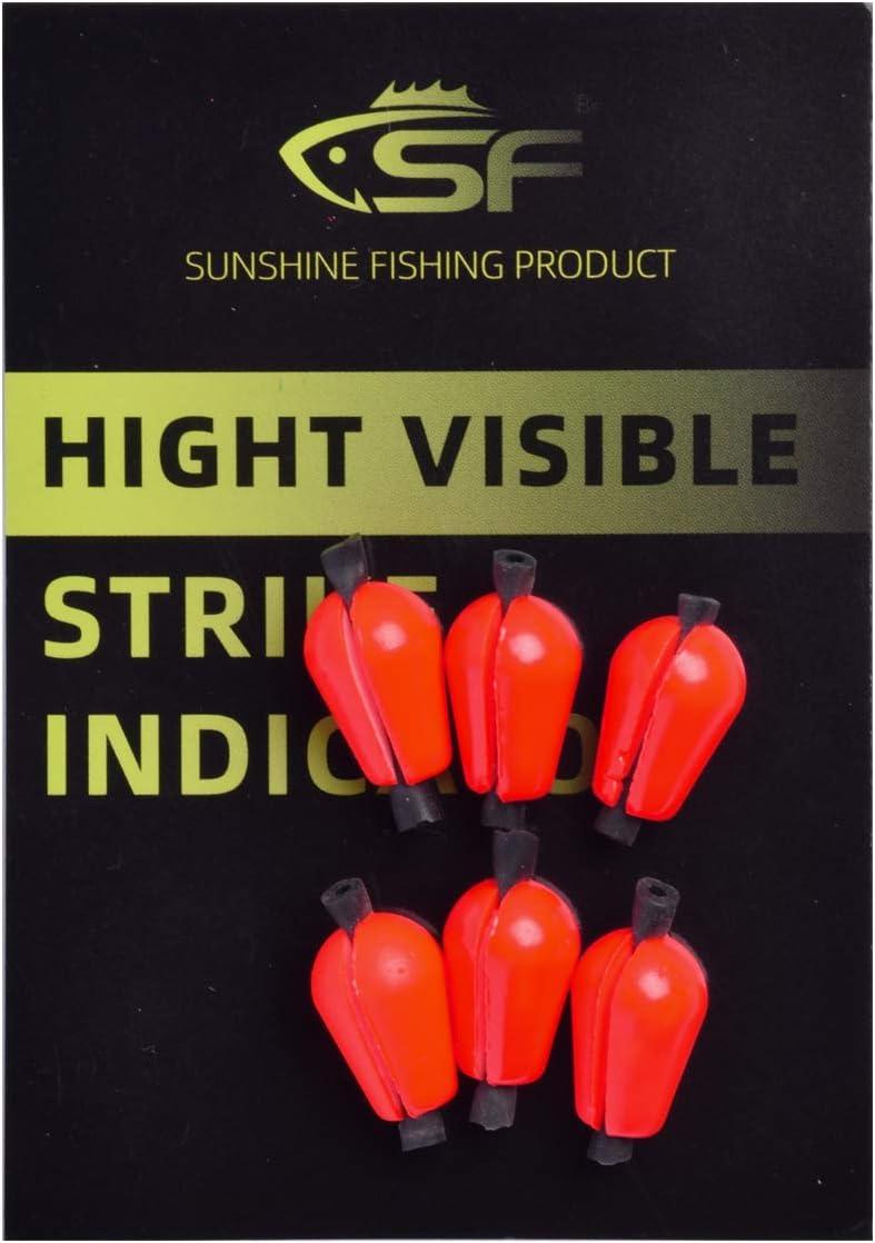 SF Fly Fishing Strike Indicator Foam Material Teardrop Floating Bobber Indicators