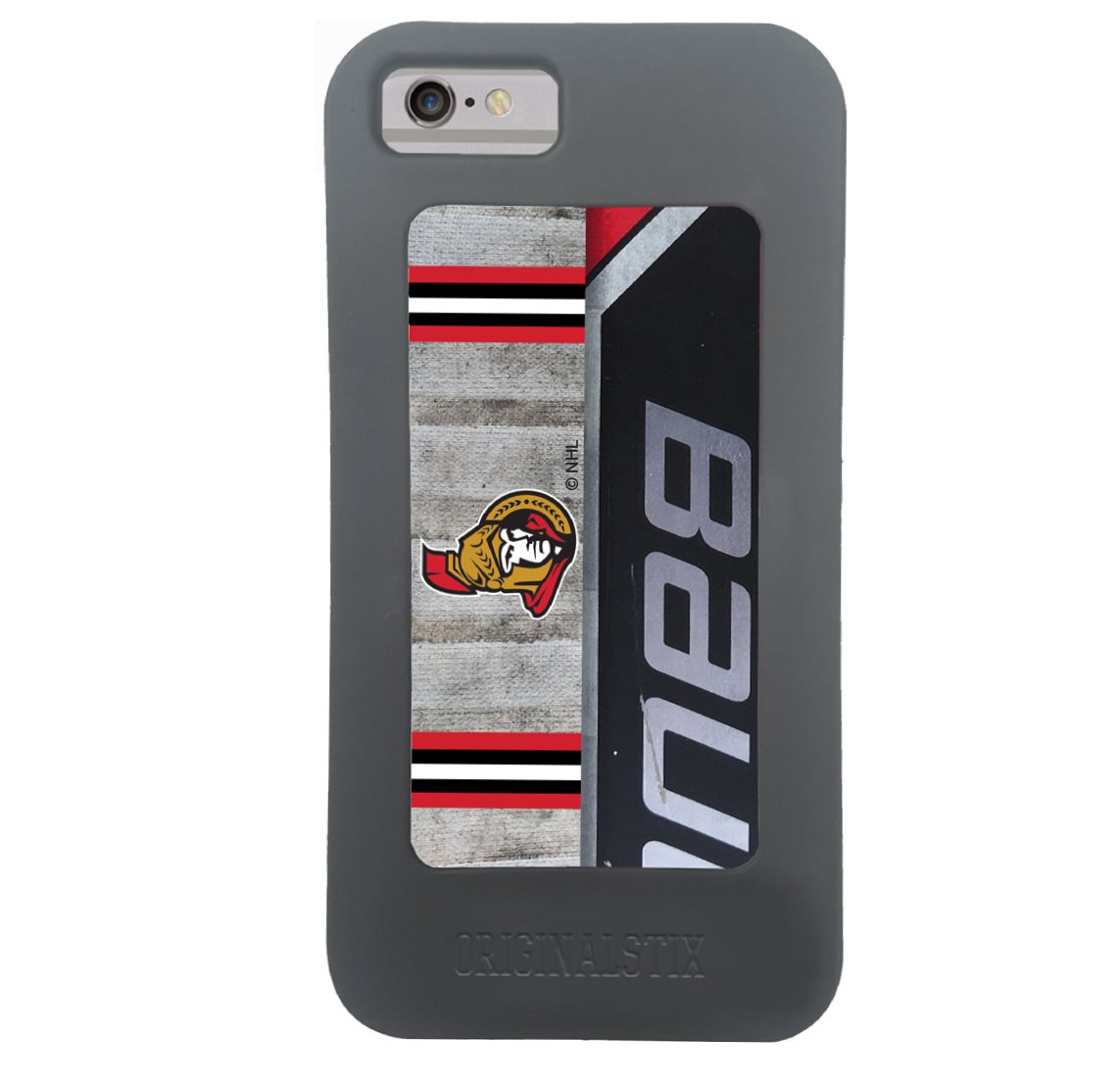 reputable site 91808 7622d NHL Ottawa Senators Unisex OS-NHL-Ott-Art-001-iph7Ottawa Senators Recycled  Hockey Stick iPhone 7 ...