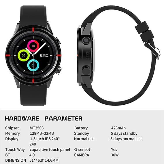Amazon.com: Top GW12 PK F5 GPS Smart Watch MTK2503 Altimeter ...