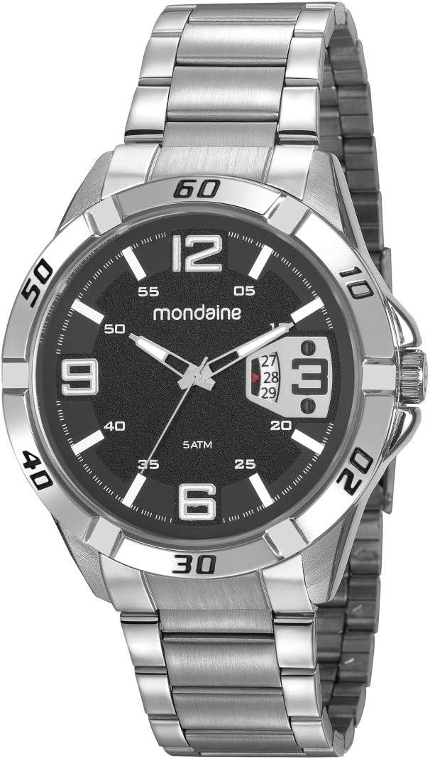 Relógio Mondaine prateado