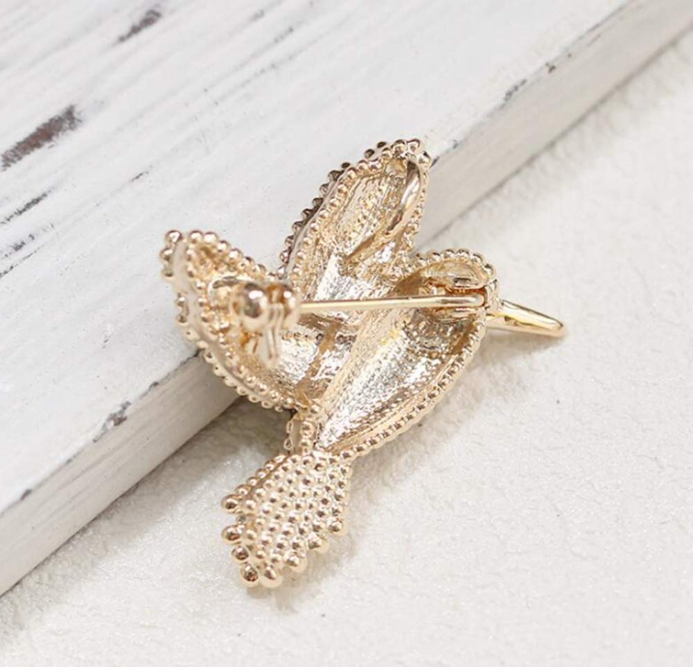 Sxuefang Brooch Cute Drop Oil Multicolor Bird Brooch Simple Male and Female Pin Collar Needle