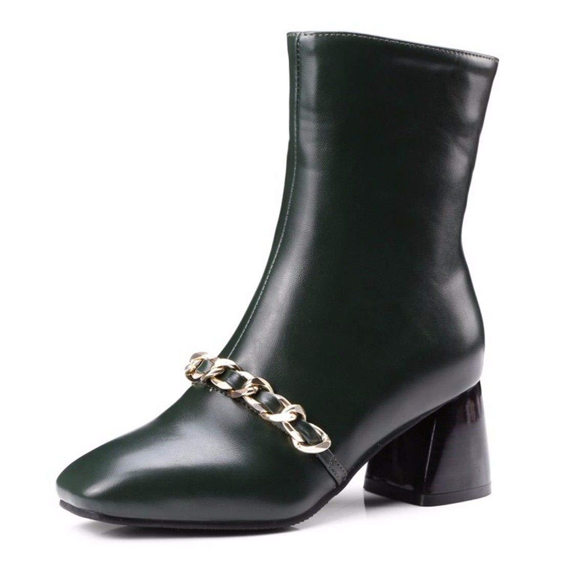 AIKAKA Frauen Herbst und Winter Europa und Amerika Sexy warme Kurze Stiefel Ritter Stiefel  | Exquisite (in) Verarbeitung  | Schönes Aussehen