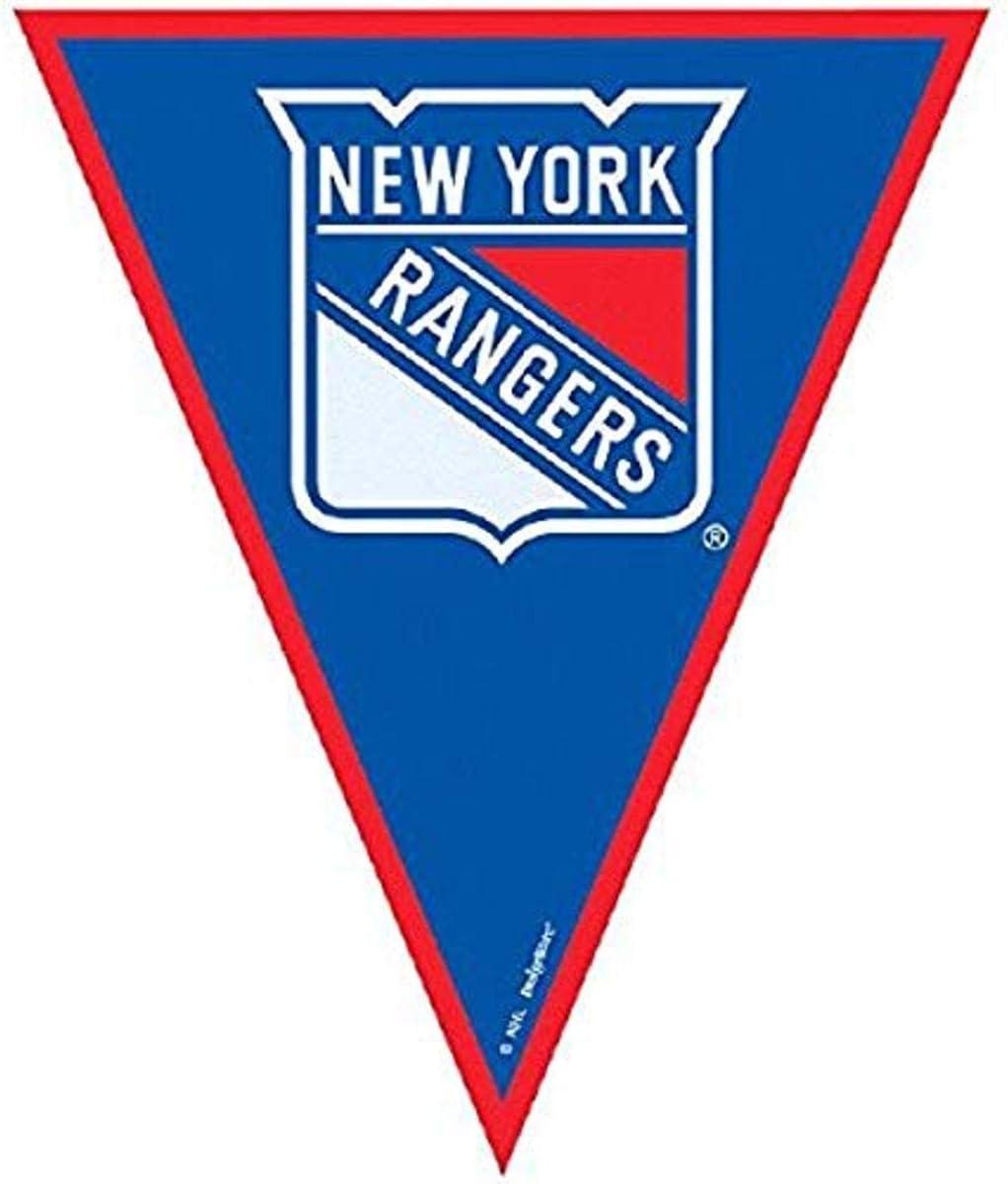 Amscan 123898 Super Cool New York Rangers NHL Pennant Banner