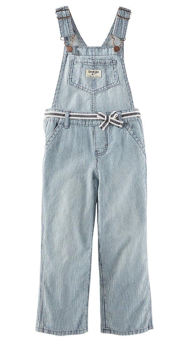Oshkosh B 'gosh Peto rayas Jeans Chica Girl Pant–Pantalones vaqueros Baby