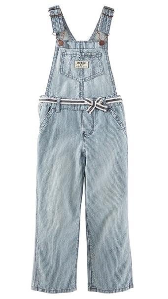 Oshkosh B Gosh Peto Rayas Jeans Chica Girl Pant ...
