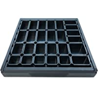 Wolfcraft 6792000 Sistema para ordenar cajones, 26 cajas