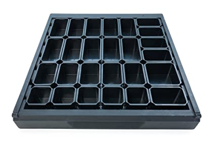 Wolfcraft 6792000 Sistema para ordenar cajones 26 cajas