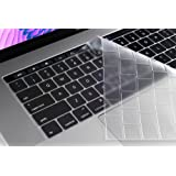Oaky A1706, A1889 MacBook Pro 13 inch 2018/2017 with Touch Bar Ultra-Thin TPU Clear Keyboard Protector Skin