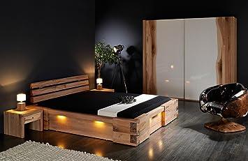 Massivholzbett Walkure Rustikales Designerbett Grosse 200x220cm