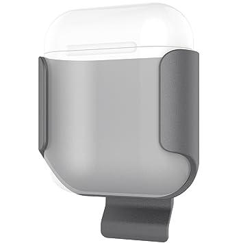 ProCase Soporte Colgante para Apple AirPods, Porta Exquisita con Pinza Cinturón, Fijador Protector Ultra Delgado a Prueba de Golpes para Apple Estuche de ...