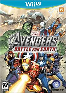 Marvel Avengers Battle for Earth - Trilingual - WiiU - Wii U Standard Edition
