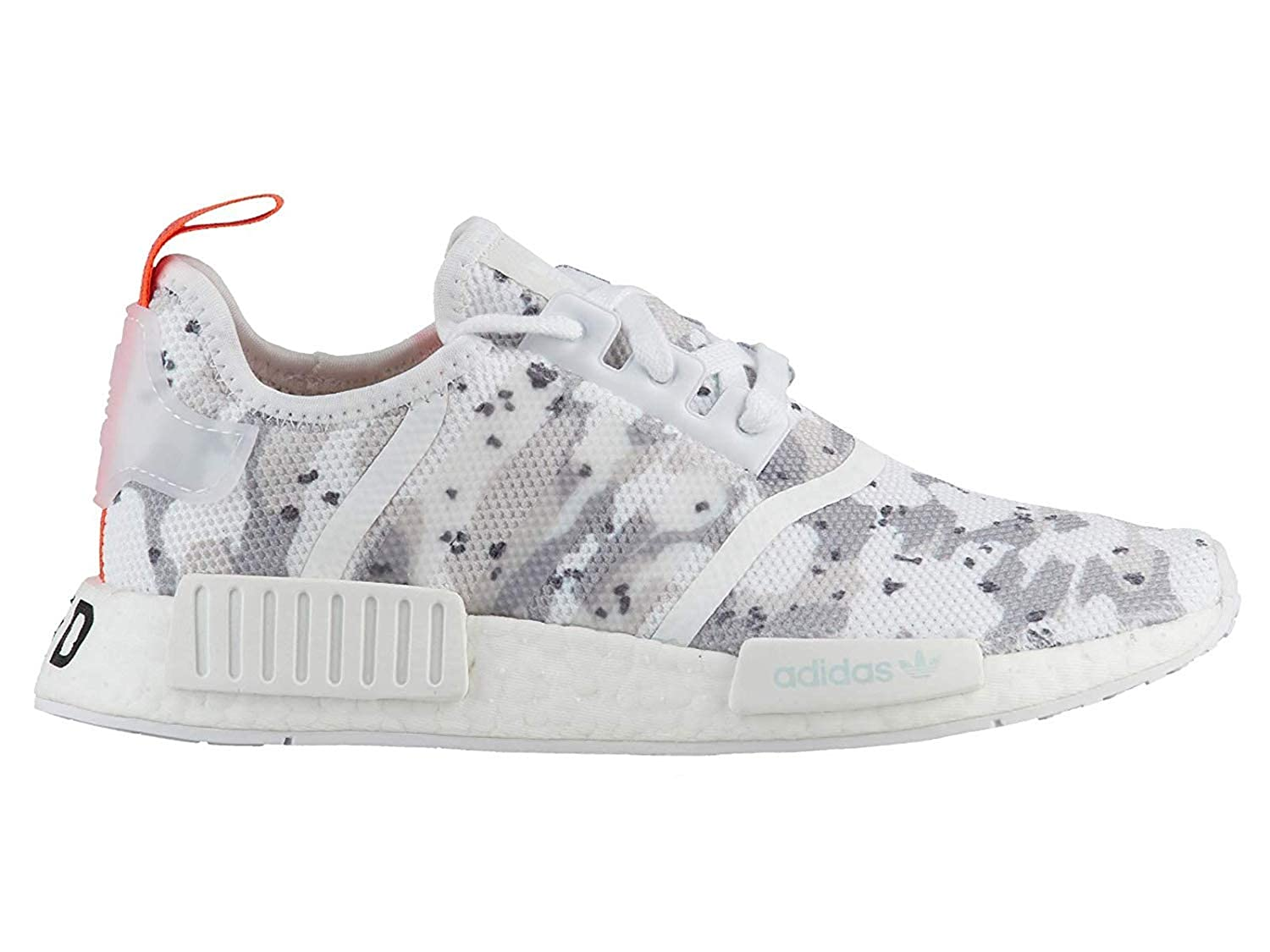 competitive price 25331 a0bde Amazon.com | adidas Womens Originals NMD R1 White/White ...