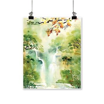 Amazon Com Artwork For Home Decorations Watercolor Asian
