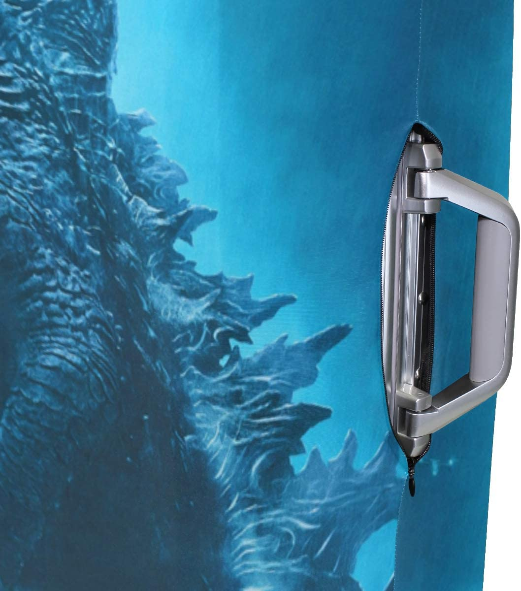 Godzilla suitcase cover elastic suitcase cover zipper luggage case removable cleaning suitable for 29-32 trunk cover