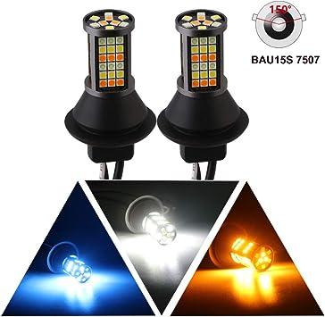 Car Turn Signal Indicator Light PY21W 5009 Canbus LED Bulb Amber Blinker 3000k