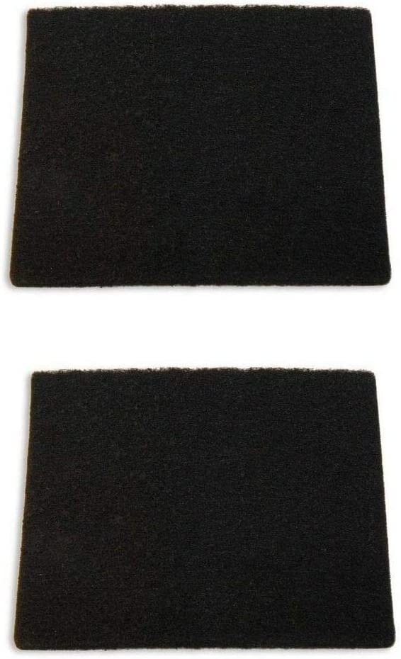 (2) Hoover Windtunnel T-Series Carbon Exhaust Vacuum Filter, Part # 902404001