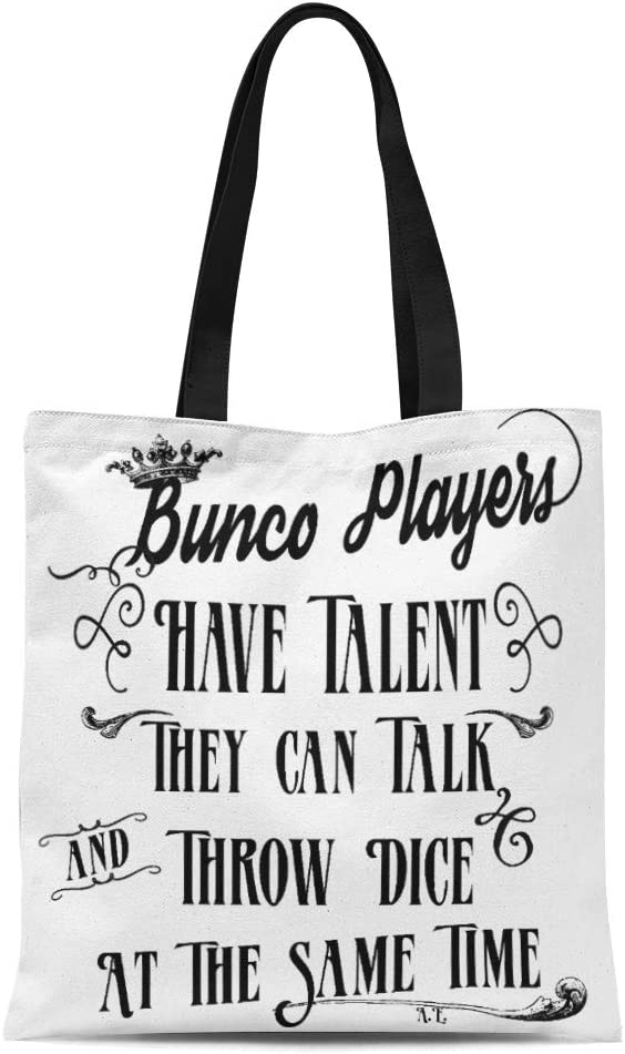 Talking To Myself Funny Tote Bag For Life Shopper Shopping Reusable