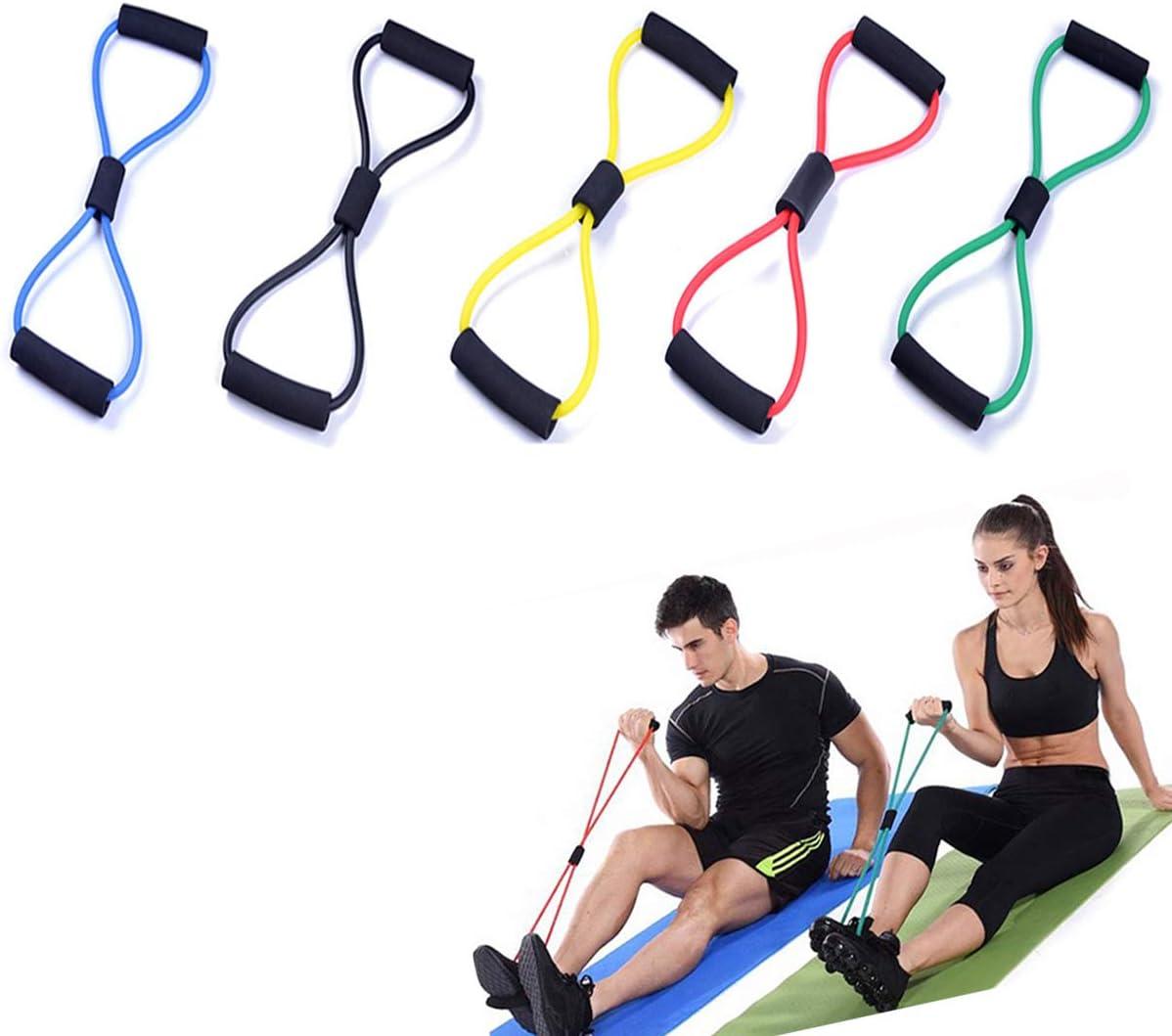 Resistance Elastic Bands Loop Exersise Sport Fitness Tube Yoga Gym Heavy Duty