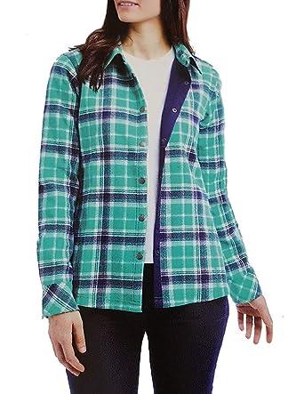 e6b9d006a3f Orvis Ladies  Flannel Shirt Jacket at Amazon Women s Coats Shop