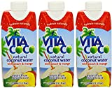(3 PACK) - Vita Coco Coconut Water - Peach & Mango | 330 x 12ml x | 3 PACK - SUPER SAVER - SAVE MONEY