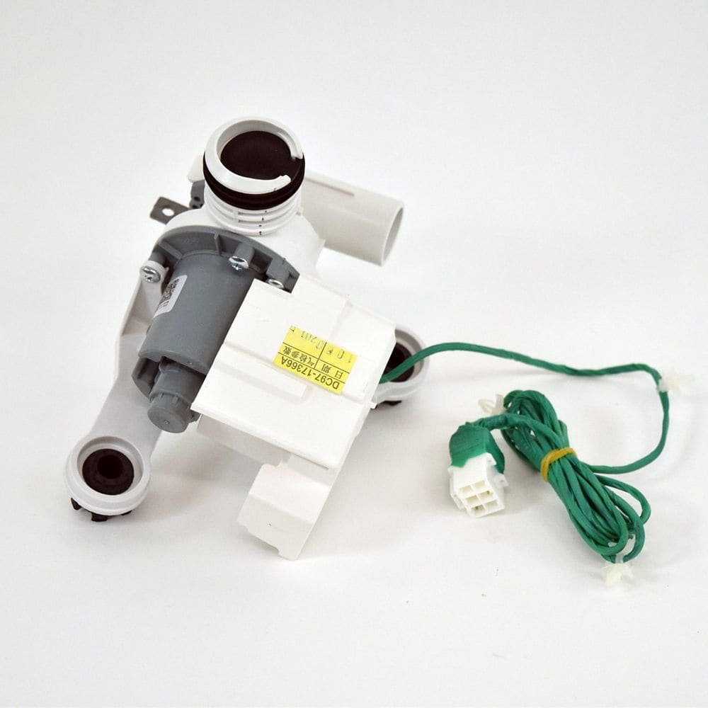 Samsung DC97-17366A Washer Drain Pump Assembly Genuine Original Equipment Manufacturer (OEM) Part