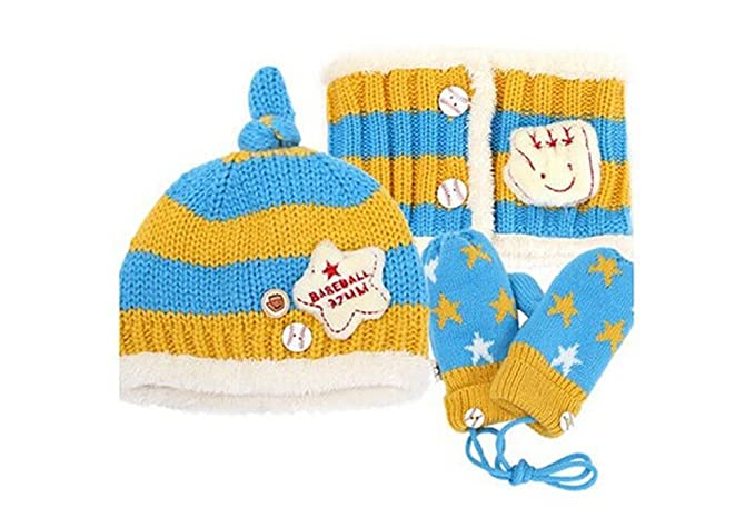 Amazon Knitting Baby Hat And Gloves Mittens Scarf Designed
