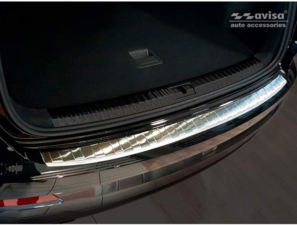 Avisa 2//35331 Protection de seuil arri/ère INOX Audi Q3 II 2019 Ribs