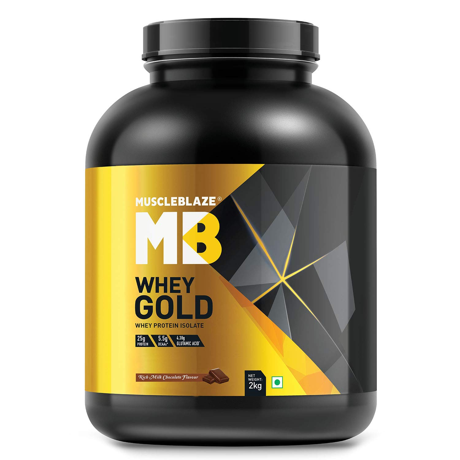 MuscleBlaze Whey Gold 100% Whey Protein