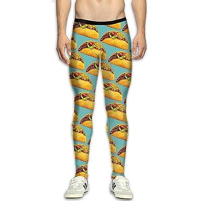 QWYHFHH Men's Compression Pants Baselayer Pancake Dry Sports Tights Leggings