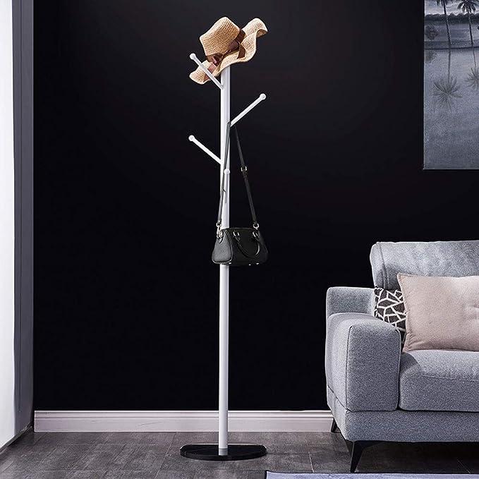 Amazon.com: Perchero vertical de hierro con base de mármol ...