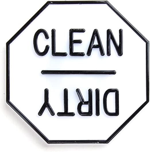 Dirty Clean Dishwasher magnet clean magnet Dirty or Clean magnet kitchen magnet