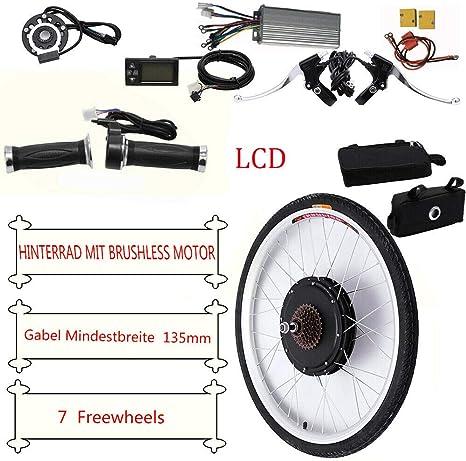 HaroldDol 48V 1000W Kit de conversión de Bicicleta eléctrica 26 ...