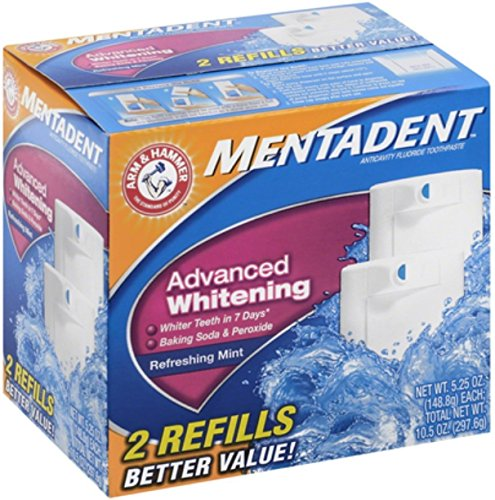 Mentadent Advanced Whitening Refreshing Toothpaste