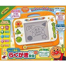 Ikuno ! Graffiti classroom Junior to write Anpanman by Joy palette