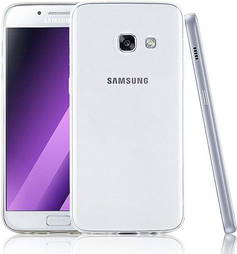 NEWC Funda para Samsung Galaxy A5 (2017), Anti- Choques y Anti- Arañazos, Silicona TPU, HD Clara: Amazon.es: Electrónica