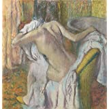 high quality polyster Canvas ,the Cheap but High quality Art Decorative Art Decorative Canvas Prints of oil painting 'Hilaire Germain Edgar Degas After the Bath Woman drying herself ', 8 x 8 inch / 20 x 21 cm is best for dining Room artwork and Home artwork and Gifts