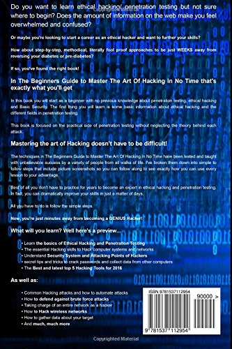 Hacking for Beginners - A Beginners Guide for Learning ...