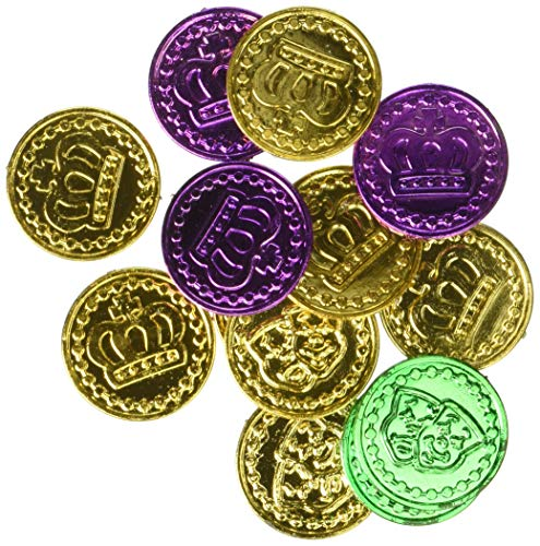Mardi Gras Party Coins, 100 Ct. ()