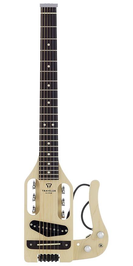 Traveler Guitar Pro-Series electro-acústicas Guitarra de viaje con Gig Bag